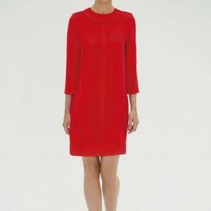 💯 Authentic Victoria Beckham Fire Red Dress